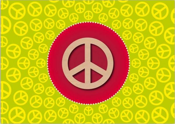 Grußkarte Peace