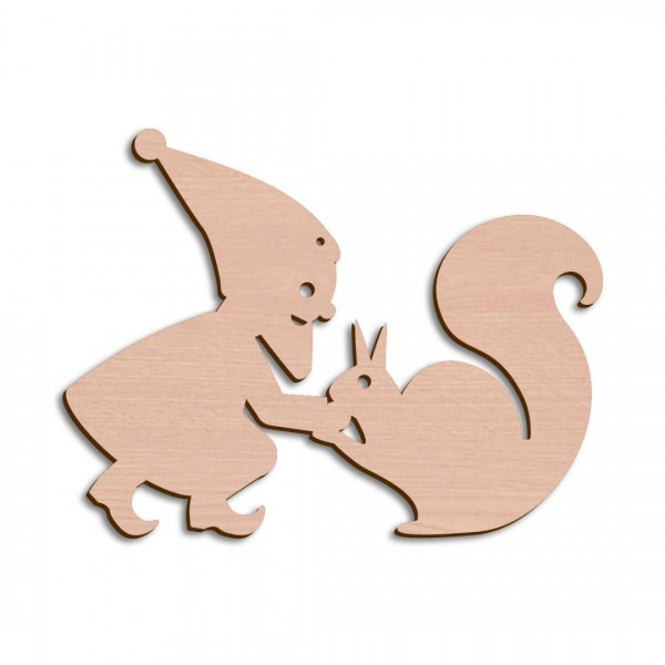 Wichtel + Eichhörnchen