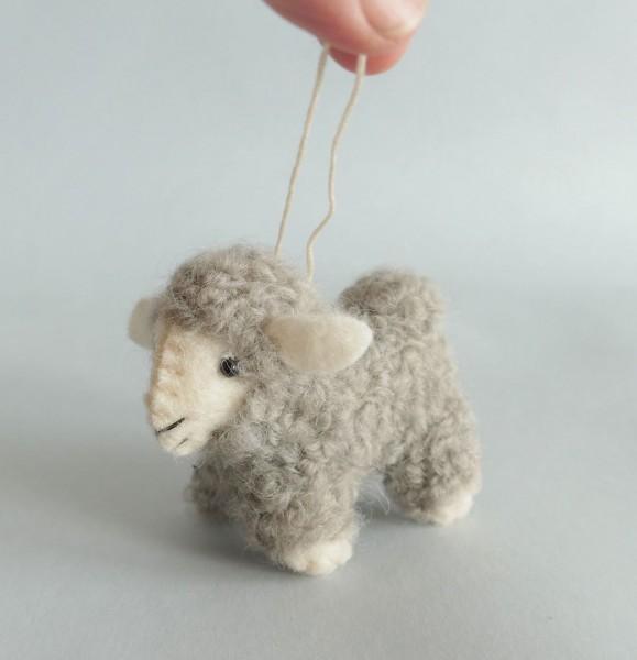 Schaf, grau