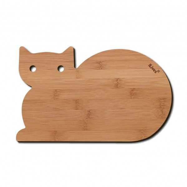 Frühstücksbrett Katze