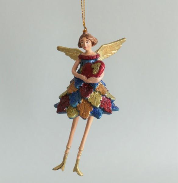 Engel mit Herz Baumschmuck