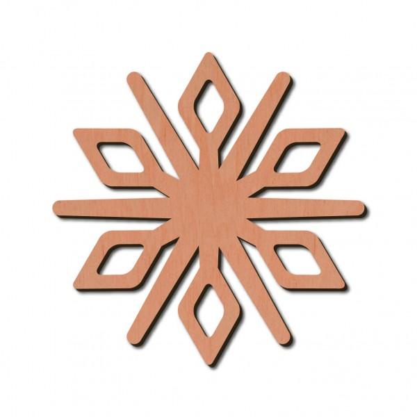 Holzstern - Crux Ø 8 cm