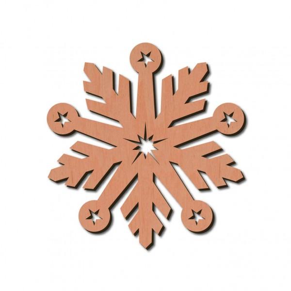 Holzstern - Bianca Ø 8 cm