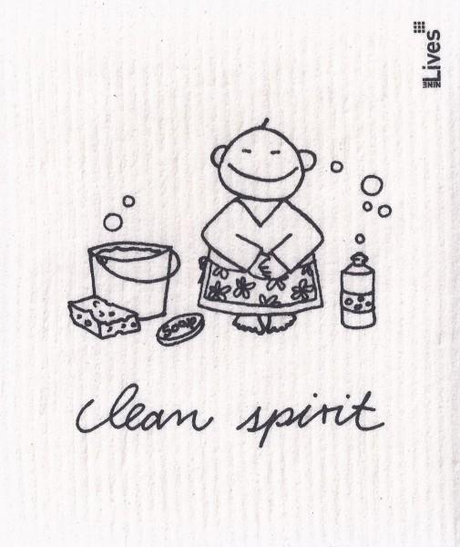 Schwammtuch Clean spirit