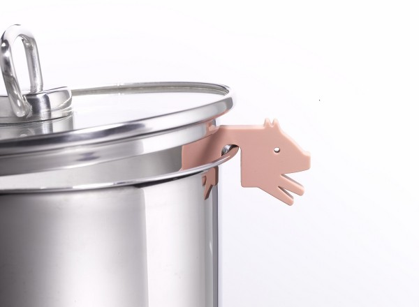 Topfwächter Schwein, beige