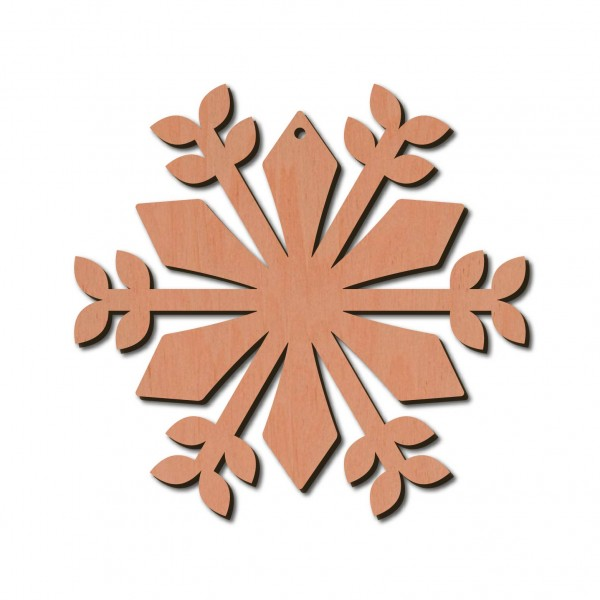 Holzstern - Juno Ø 8 cm