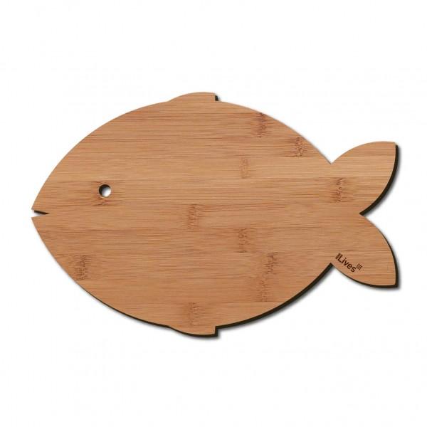 Frühstücksbrett Fisch