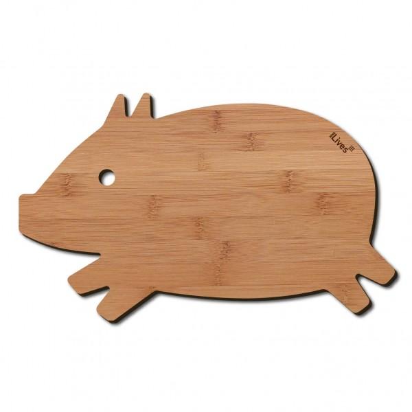 Frühstücksbrett Schwein