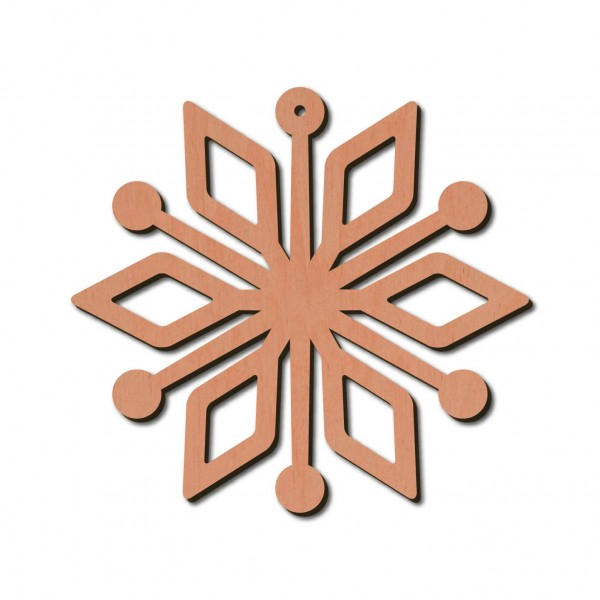 Holzstern - Draco Ø 8 cm